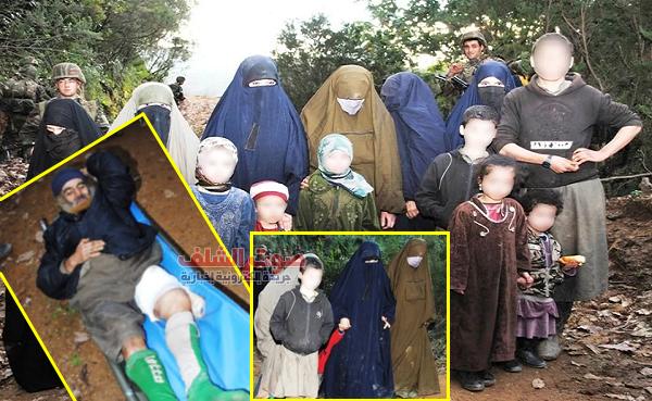وزارة الدفاع تنشر صور الإرهابيين المقبوض عليهم و عائلاتهم