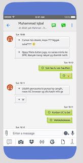 Tema BBM MOD Like iOS v3.3.6.51 Apk 11