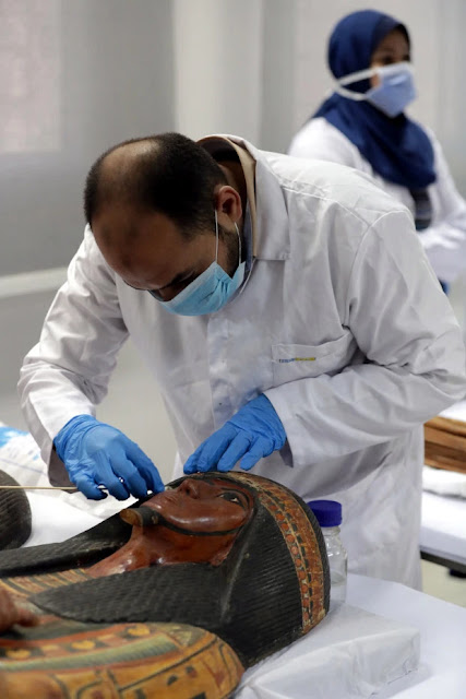 Egypt to restore 3,400-year-old sarcophagi of senior official