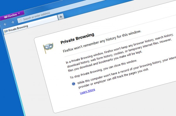 private web history