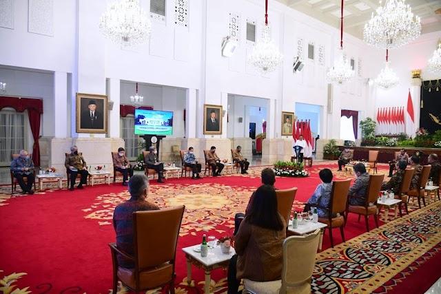 Presiden Jokowi Temui Perwakilan Perhimpunan Insan Perunggasan dan Peternak Ayam Petelur