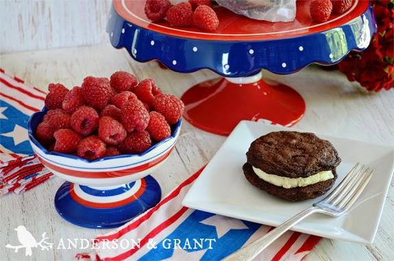 Tips for a Dessert Table at your Fourth of July Party from www.andersonandgrant.com