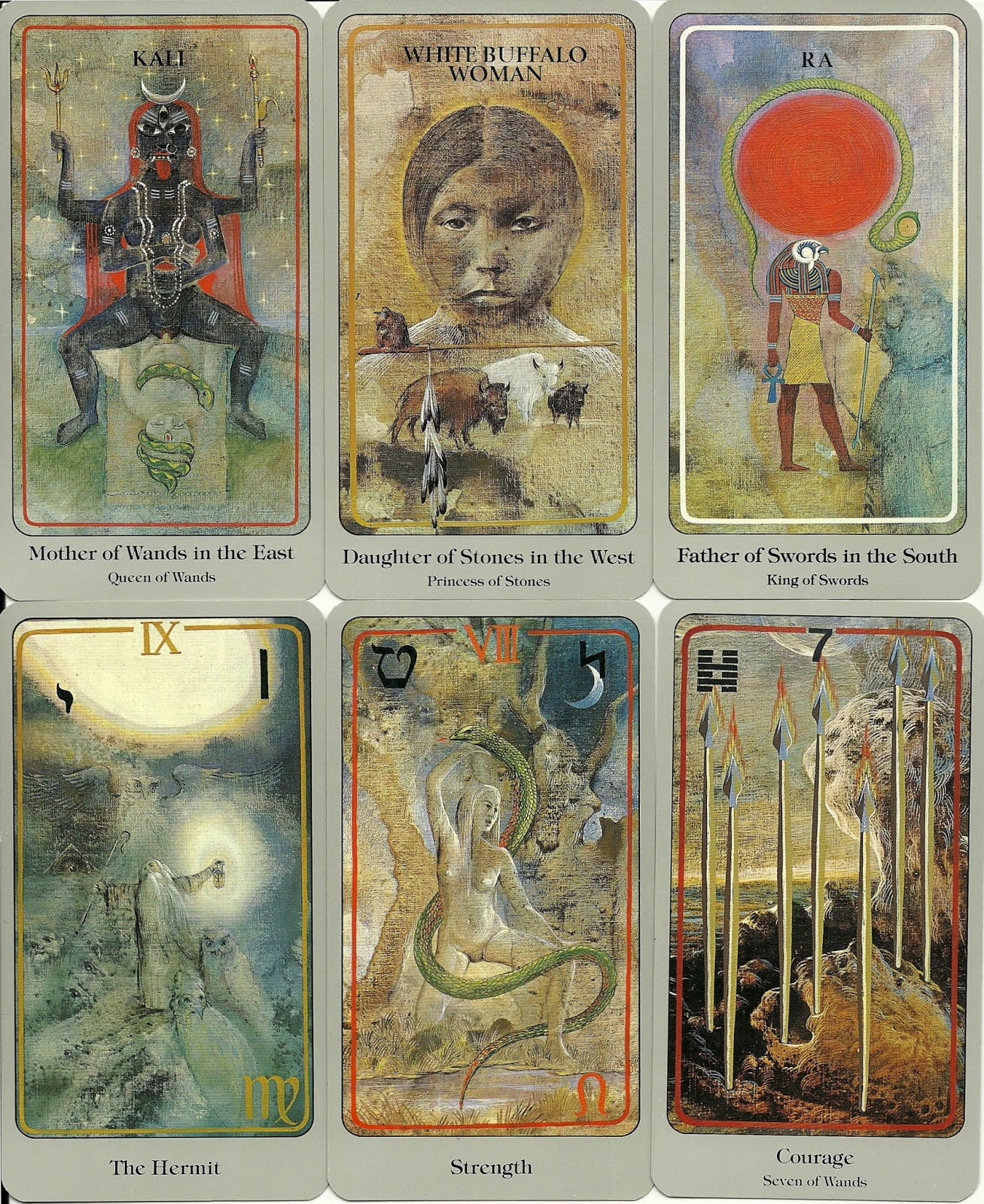 Haindl Tarot card review