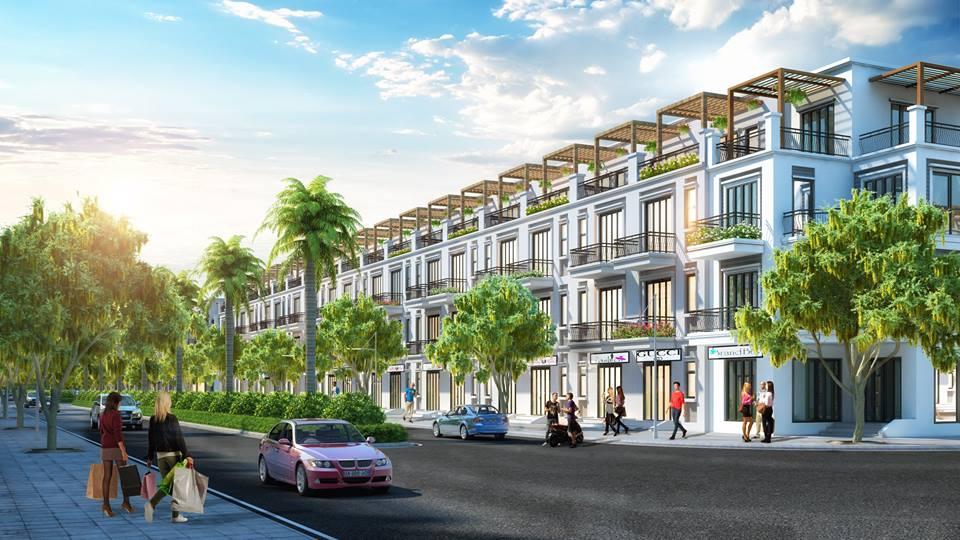Shophouse dự án TNR Quế Võ