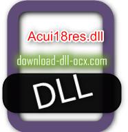 Acui18res.dll download for windows 7, 10, 8.1, xp, vista, 32bit