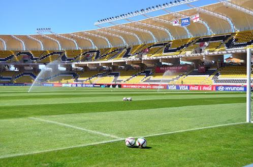 Francisco Sanchez Rumoroso Stadium, city of Coquimbo, Chile.