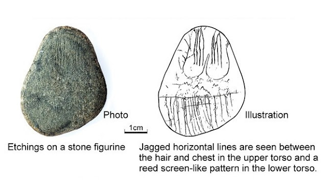 14,500-year-old stone figurines with jagged lines found in Japan puzzle experts