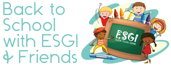 back to school with ESGI