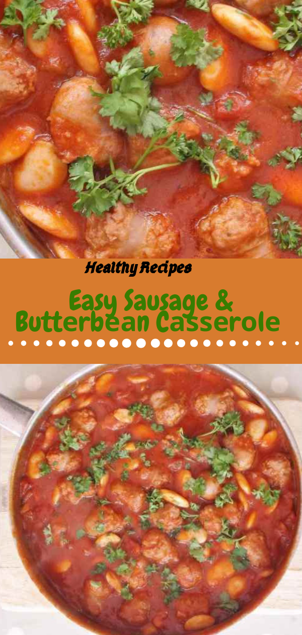 Healthy Recipes | Easy Sausage & Buttеrbеаn Cаѕѕеrоlе, Healthy Recipes For Weight Loss, Healthy Recipes Easy, Healthy Recipes Dinner, Healthy Recipes Pasta, Healthy Recipes On A Budget, Healthy Recipes Breakfast, Healthy Recipes For Picky Eaters, Healthy Recipes Desserts, Healthy Recipes Clean, Healthy Recipes Snacks, Healthy Recipes Low Carb, Healthy Recipes Meal Prep, Healthy Recipes Vegetarian, Healthy Recipes Lunch, Healthy Recipes For Kids, Healthy Recipes Crock Pot, Healthy Recipes Videos, Healthy Recipes Weightloss, Healthy Recipes Chicken, Healthy Recipes Heart, Healthy Recipes For One, Healthy Recipes For Diabetics, Healthy Recipes Smoothies, Healthy Recipes For Two, Healthy Recipes Simple, Healthy Recipes For Teens, Healthy Recipes Protein, Healthy Recipes Vegan, Healthy Recipes For Family, Healthy Recipes Salad, Healthy Recipes Cheap, Healthy Recipes Shrimp, Healthy Recipes Paleo, Healthy Recipes Delicious, Healthy Recipes Gluten Free, Healthy Recipes Keto, Healthy Recipes Soup, Healthy Recipes Beef, Healthy Recipes Fish, Healthy Recipes Quick, Healthy Recipes For College Students, Healthy Recipes Slow Cooker,   #healthyrecipes #recipes #food #appetizers #dinner #sausage #redwine #butterbean #Casserole