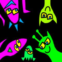 color alien ordinary days
