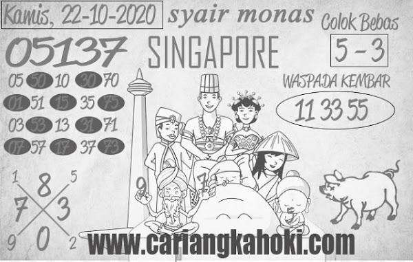 Kode syair Singapore Kamis 22 Oktober 2020 139