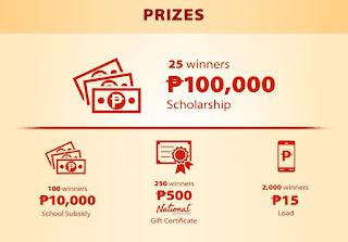 Colgate Scholarship Promo 2016, Philippines promo contest