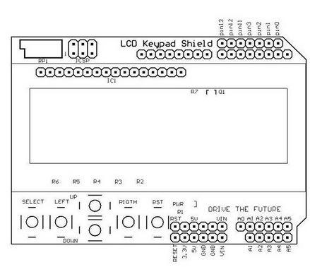 Arduino 16x2 LCD Keypad Shield Kullanımı
