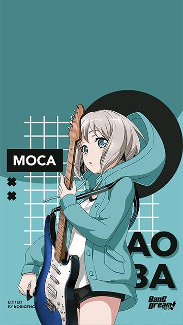 Aoba Moca - BanG Dream! Wallpaper