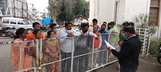 भाजपा सांसद प्रज्ञा ठाकुर के खिलाफ अनुसूचित जाती प्रकोष्ठ ने सौंपा ज्ञापन