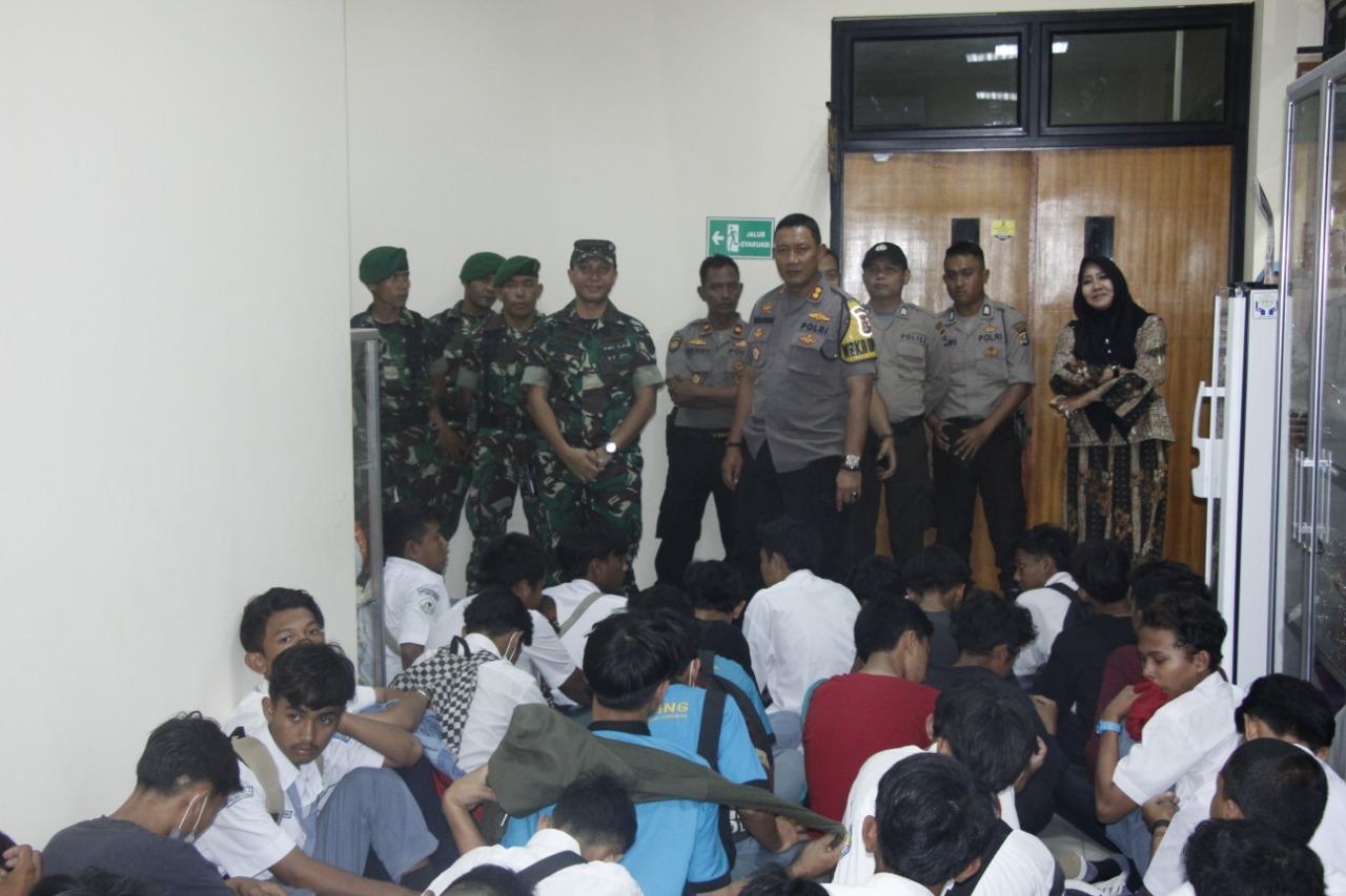 Amankan Ratusan Pelajar, Polresta Tangerang Dalami Informasi dan Ajakan Ikut Aksi ke Jakarta