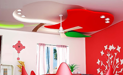 Plaster of paris moldings - pop ceiling designs