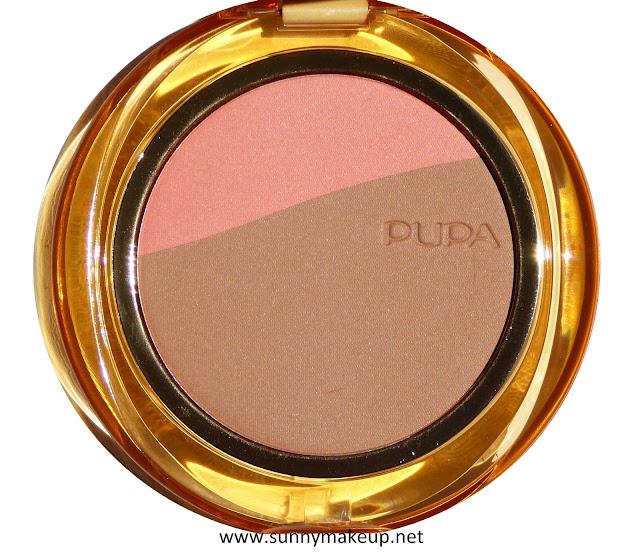 Pupa - Blush & Bronze. Blush & Terra Compatti nella colorazione  002 – Apricot Gold.