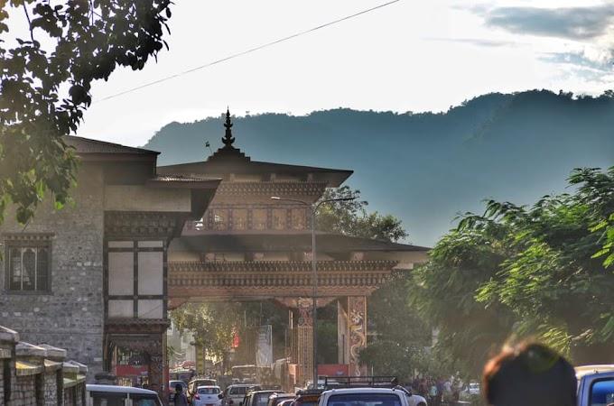 India - Bhutan Border