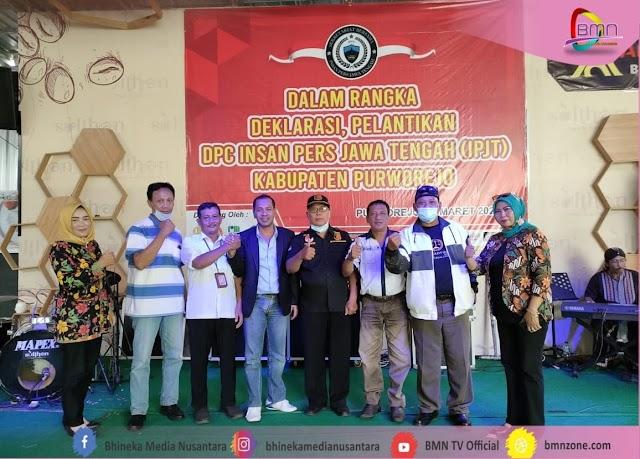 Deklarasi IPJT, Pemkab Purworejo Harapkan Pers Makin Profesional, Sinergi, dan Berimbang.