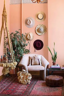 Cerahkan Desain Interior Ruangan Dengan Warna Peach