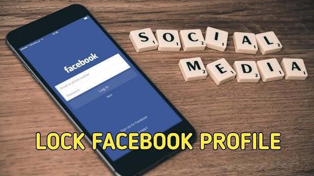 How to lock Facebook profile