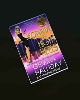 jeopardy in high heels gemma halliday high heel series 12