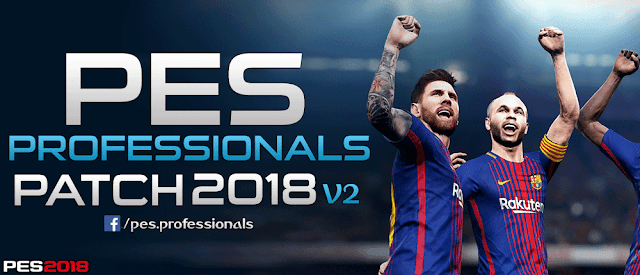 PES 2018] PES Professionals Patch 2018 V2 Season 2019 ~ Game