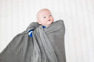 how to swaddle a baby step 5