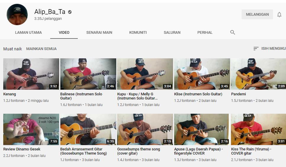 Who Is Alip Ba Ta Guitarist