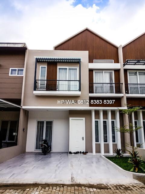 Rumah Contoh Rumah Mewah Termurah Siap Huni Villa Casa Royale Di Kompleks Royal Sumatera Medan Sumatera Utara