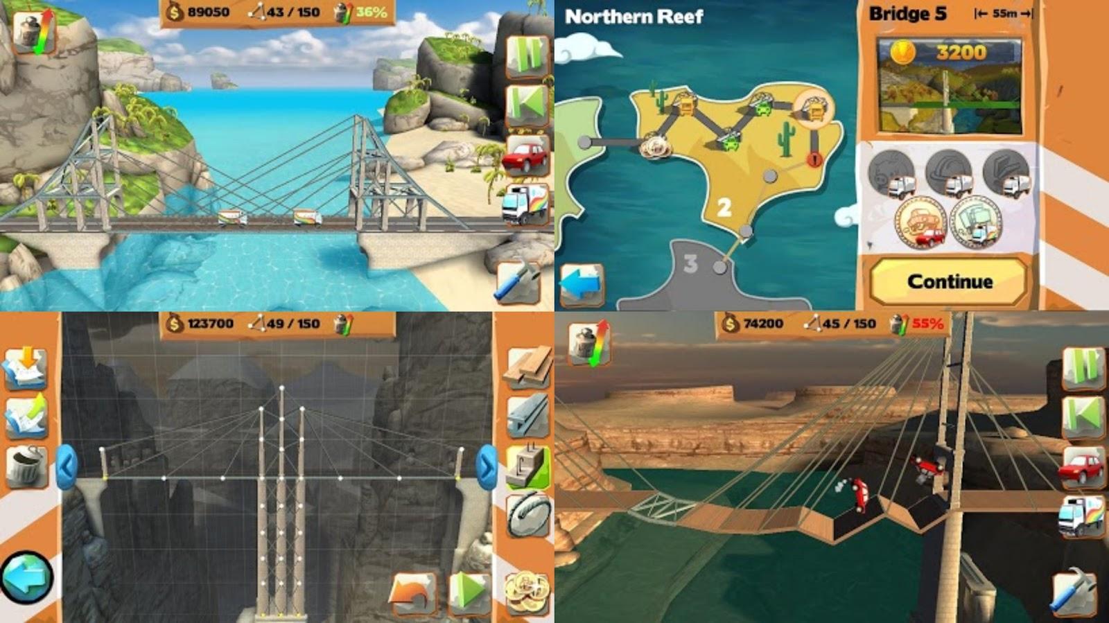 bridge constructor playground download