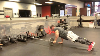 Rolls Lateral with Push-Ups