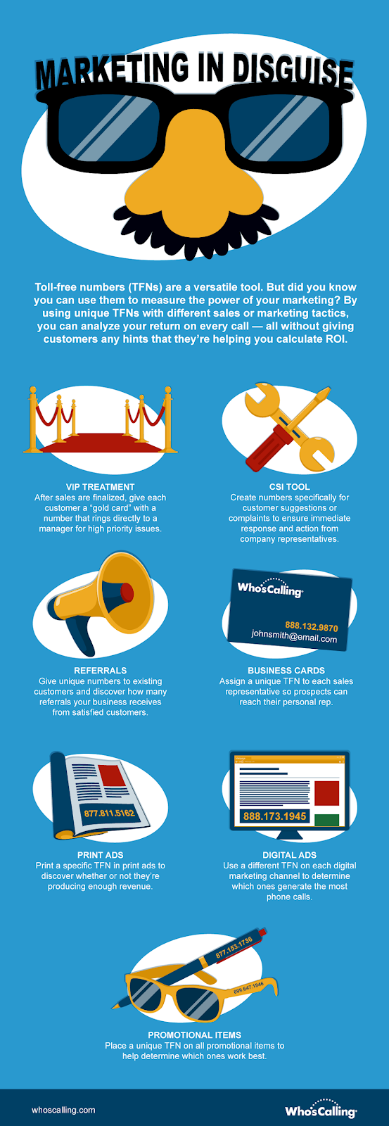 Marketing In Disguise infographic