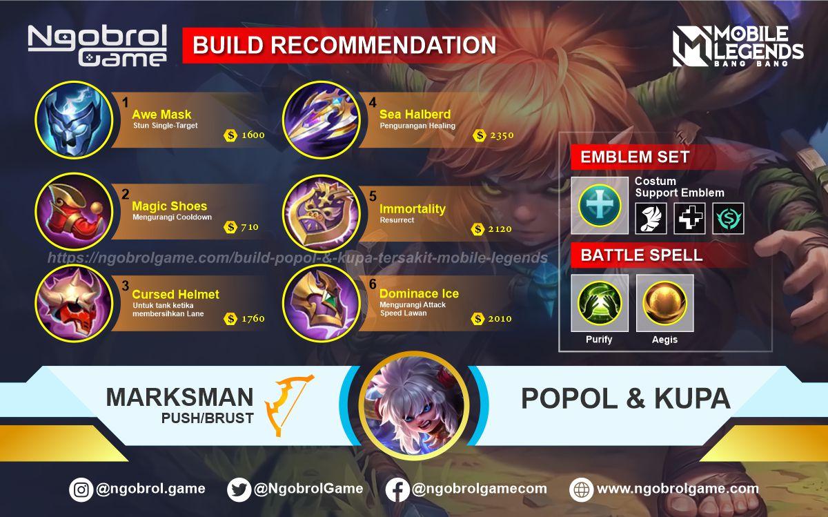 Build Popol dan Kupa Savage Mobile Legends