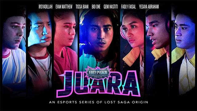 lost saga juara web series
