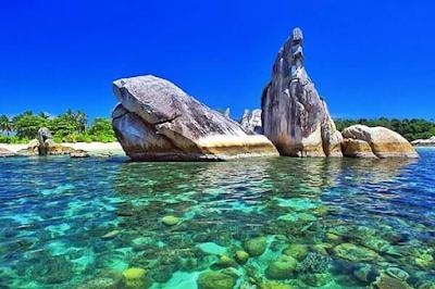 tempat foto bagus di belitung, pulau burung