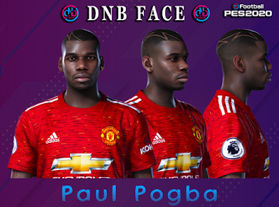PES 2020 Faces Paul Pogba by DNB