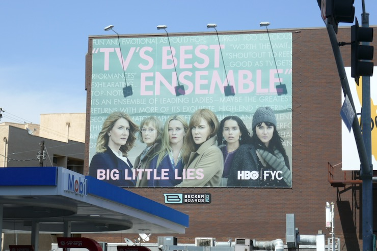 Big Little Lies 2020 Emmy FYC billboard