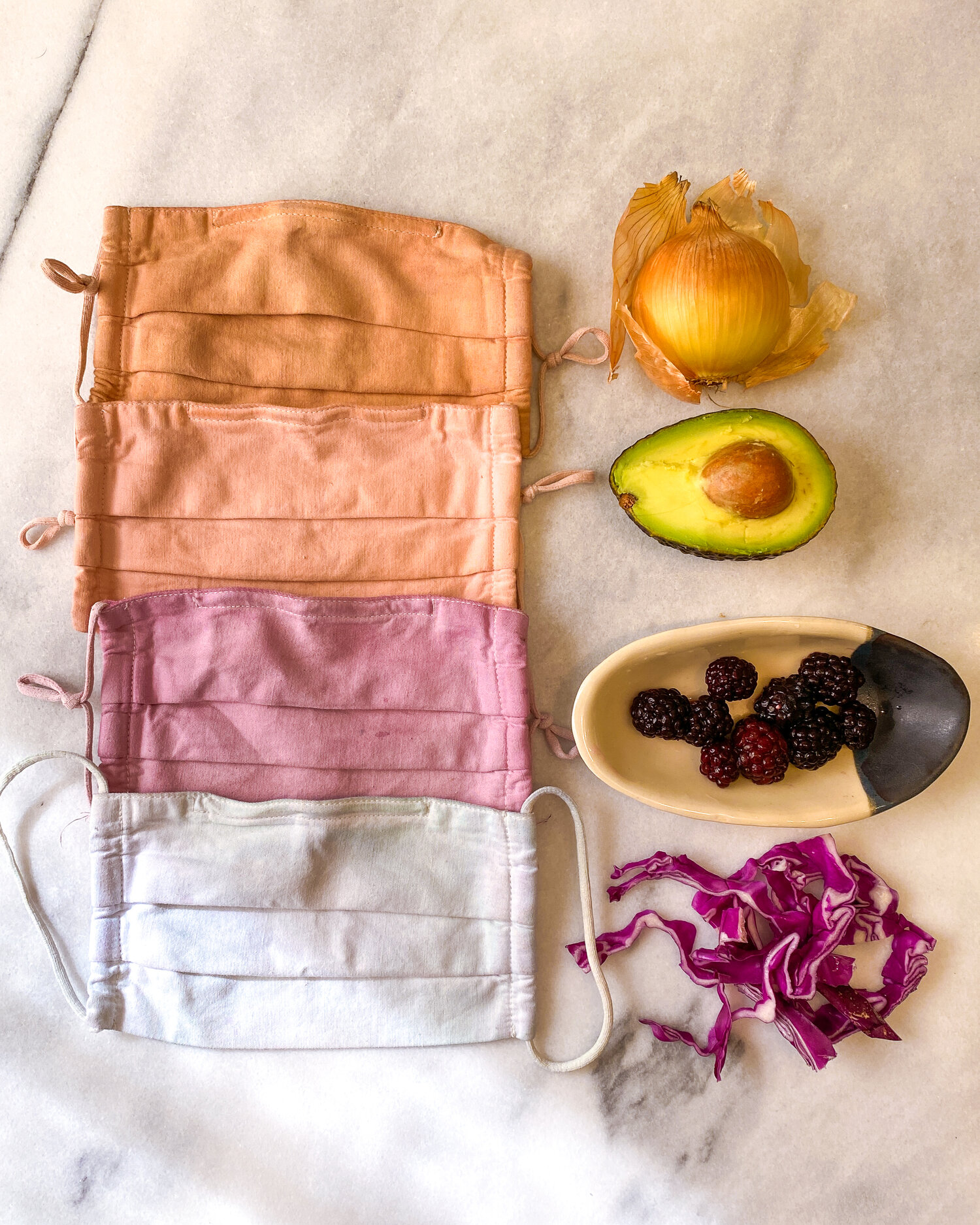 Cómo teñir telas con tintes naturales ¡Tintes 100% ecológicos!_4