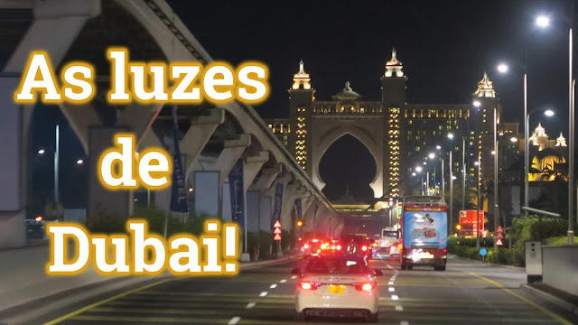 City tour noturno por Dubai