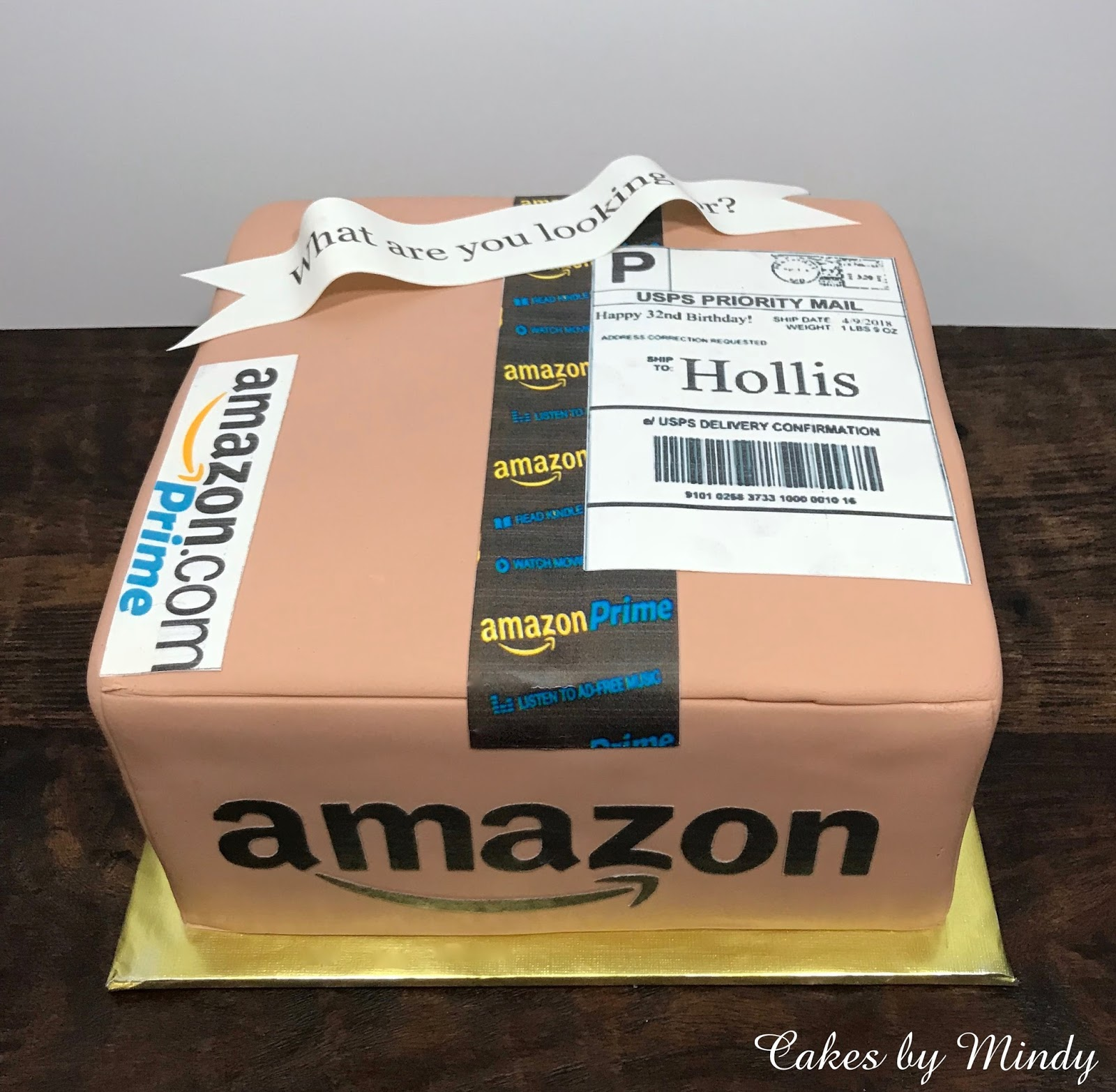 Cakes By Mindy Amazon Prime Cake 8