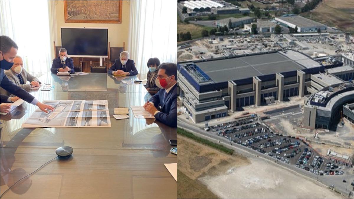 Progetto Gigafactory Enel zona industriale
