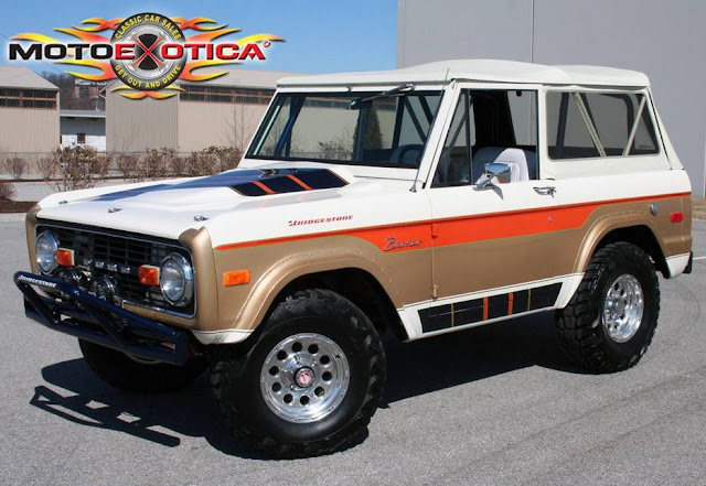 Ford Bronco Paint Jobs