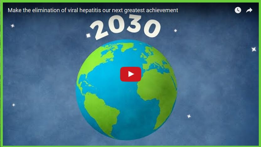 Welt Hepatitis Tag 2016