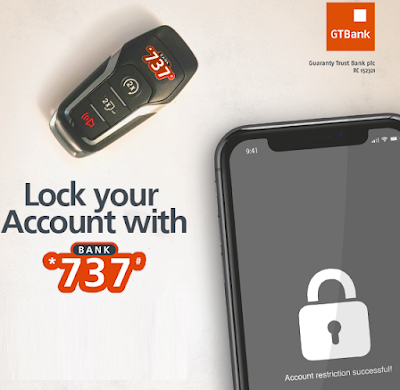 How to Instantly Lock Your GTBank Account with 737 ~ Update