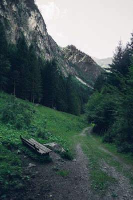 Regenwandern im Brandnertal Bürserberg Furkla Höhenweg + Kesselfall | Wandern Vorarlberg 13