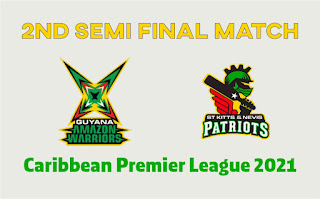 GUY vs SKN 2nd Semi Final T20 Match 100% Sure Today Match Prediction Tips
