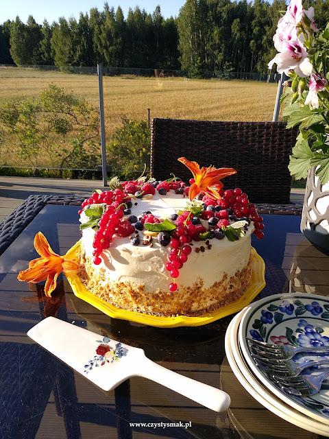 Bezglutenowy tort letnie marzenie