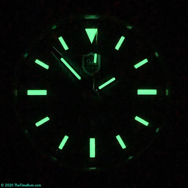 Nine Four Watches Successor lume